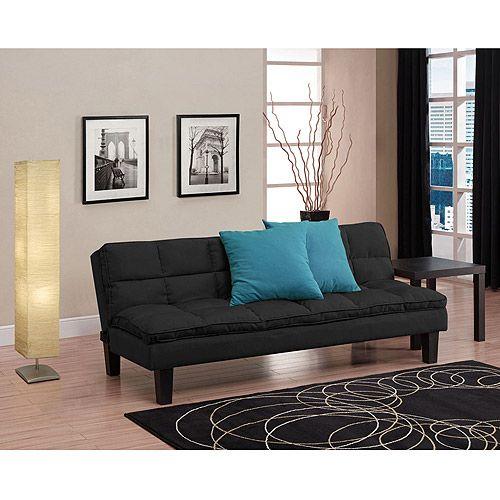 Living Room Blue Pillows
