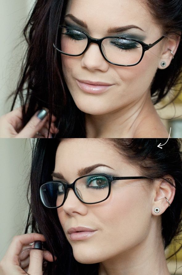 21785036dc Here are some awesome tips for women wearing glasses