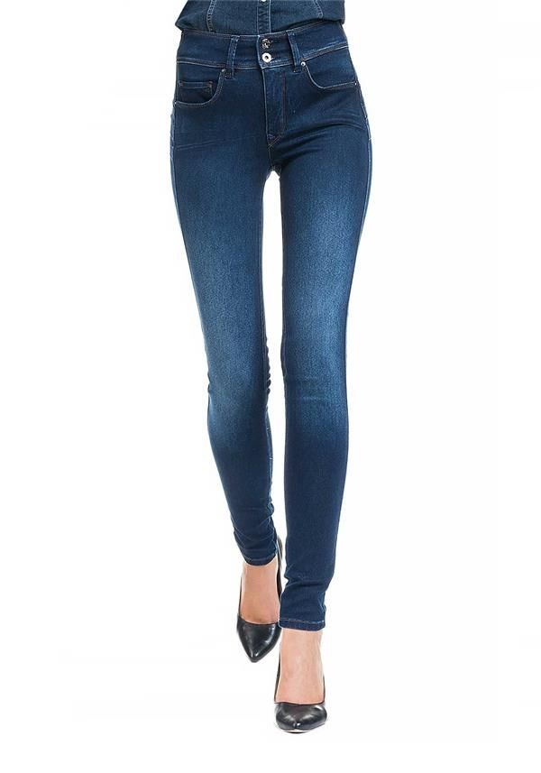 well known clearance prices limited guantity Salsa Secret High Waist Push In Skinny Jeans With Emana ...