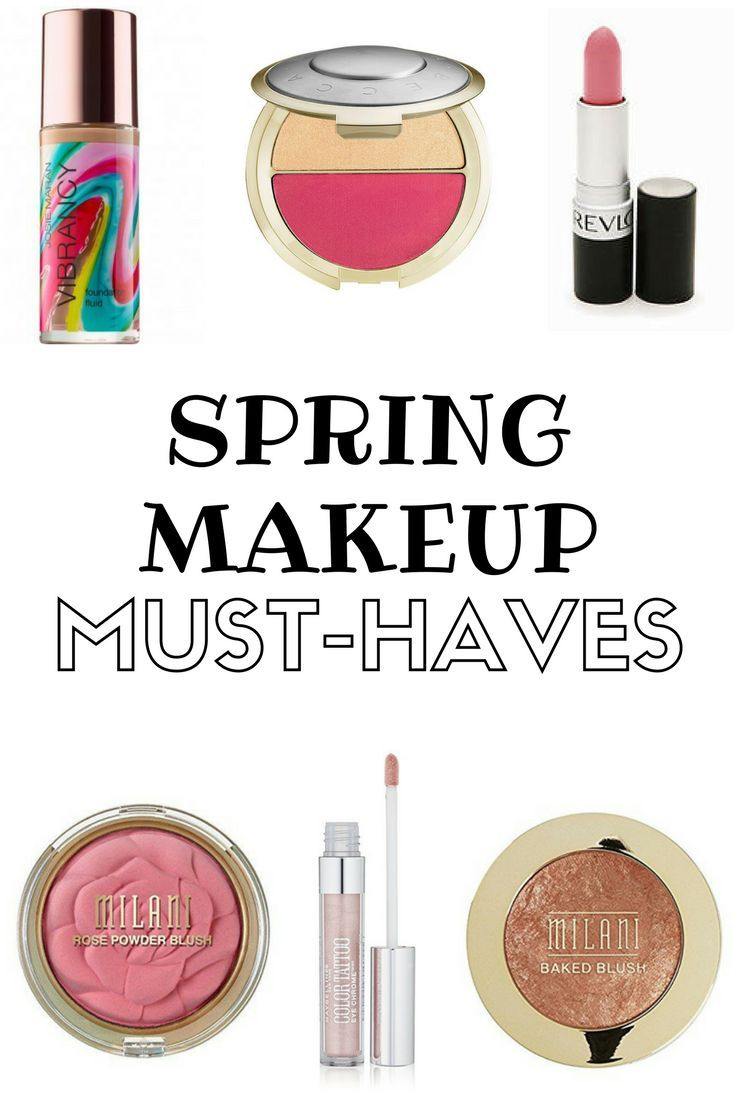 These are some makeup products you NEED this spring!!! Get your spring makeup look with blinding highlighters, pink lipsticks, and luminous foundations!