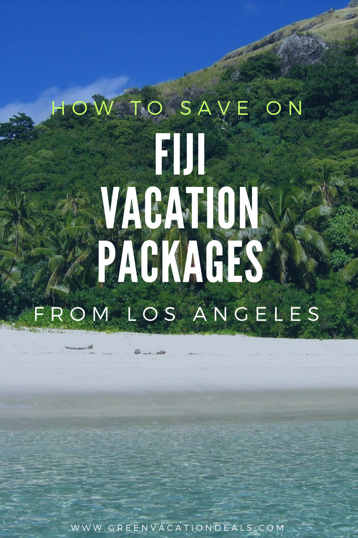 Save On Fiji Vacation Packages From Los Angeles Green Vacation Deals Fiji Vacation Beautiful Beach Vacations Travel To Fiji