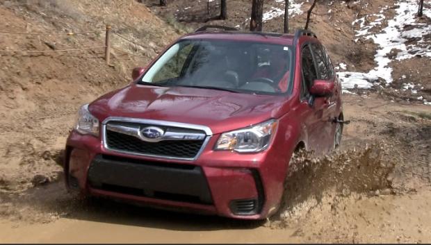 2014 Subaru Forester Xt Muddy Off Road Drive Review Subaru Tflcar Subaru Forester Xt Subaru Forester Subaru