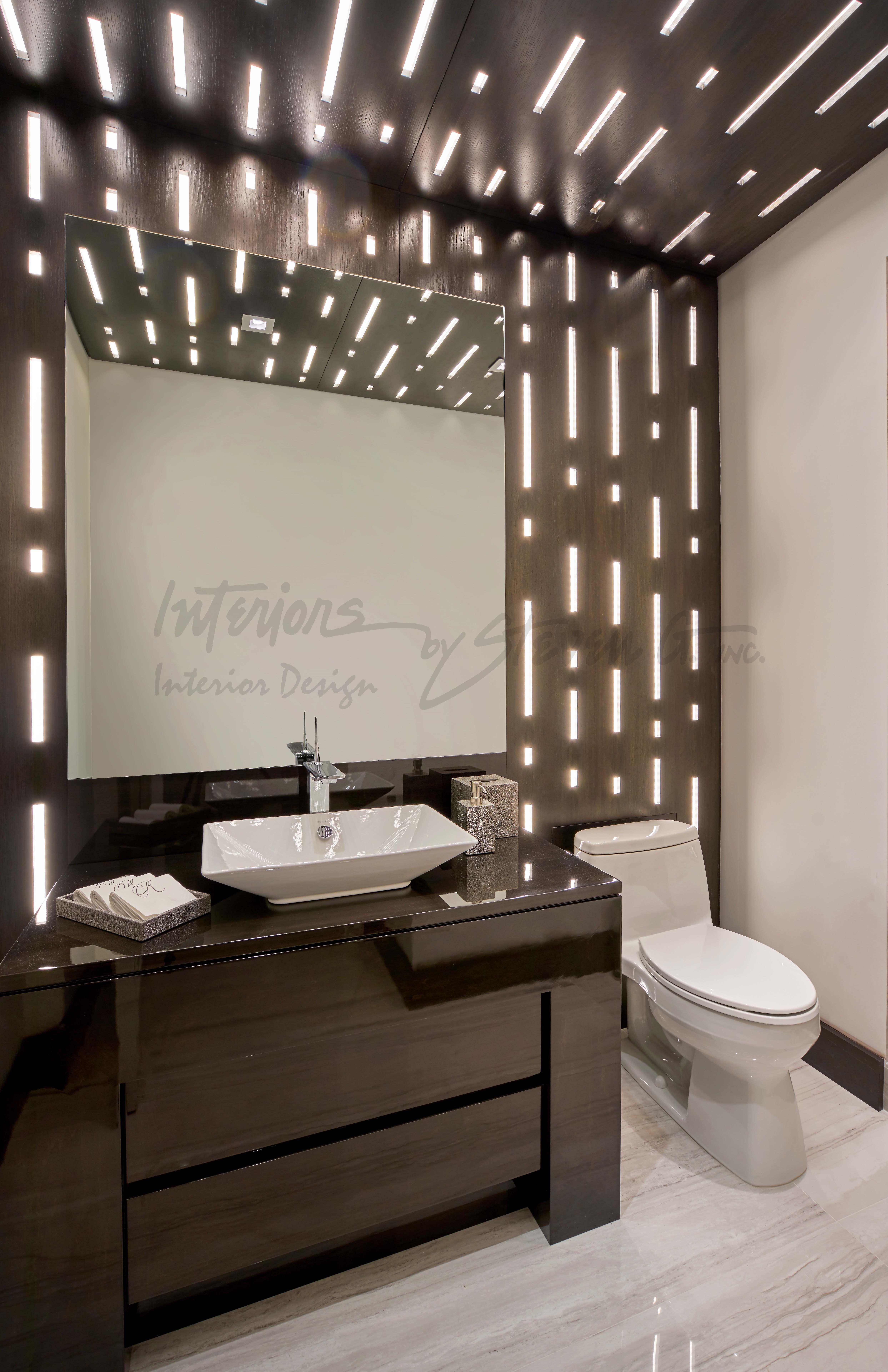 Guest Bathroom Guest Bathroom Interior Framed Bathroom Mirror