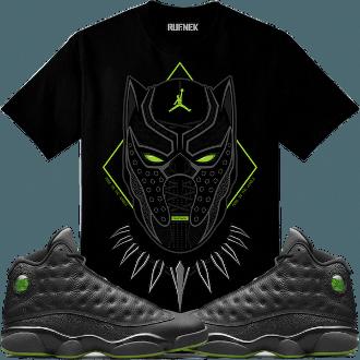 Jordan 13 Altitude Sneaker Tee Shirt to match made by