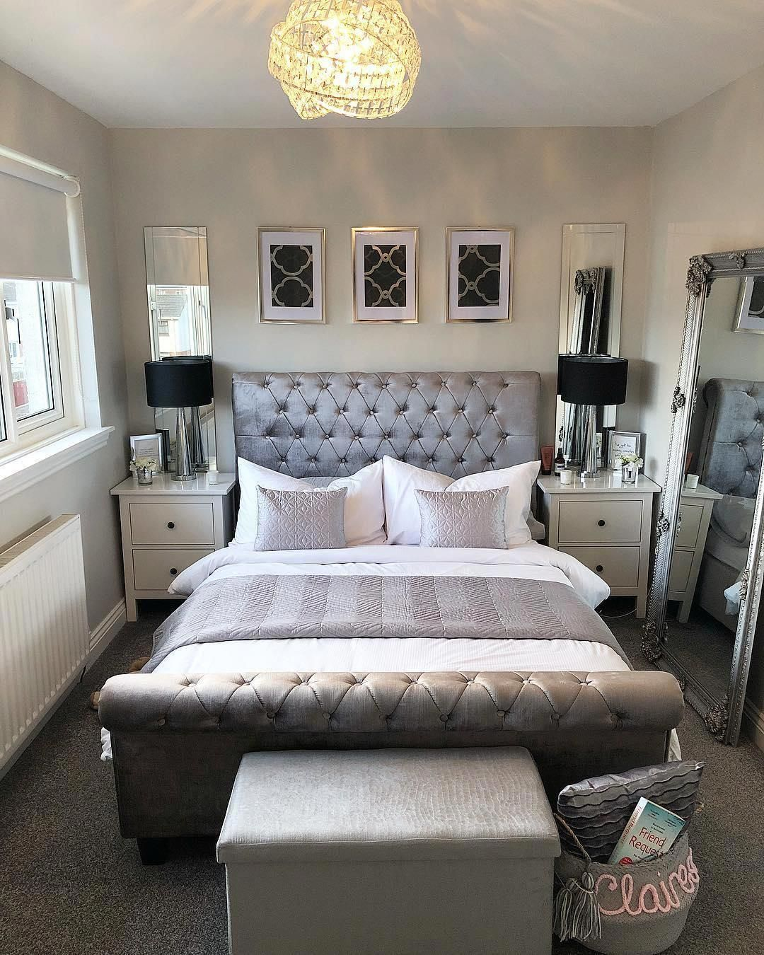41 Gorgeous Grey Bedroom Designs for Extraordinary Place to Sleep  #bed #bedroom #homedecor #grayBedroom #graybedroomwithpopofcolor 41 Gorgeous Grey Bedroom Designs for Extraordinary Place to Sleep  #bed #bedroom #homedecor #grayBedroom #graybedroomwithpopofcolor