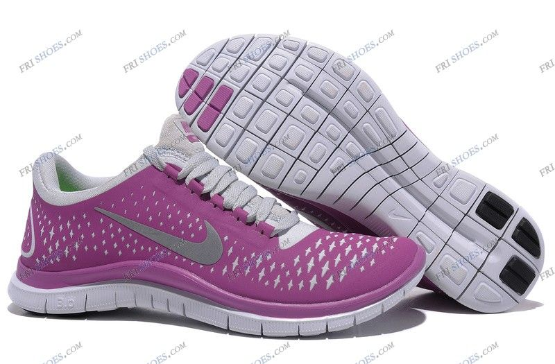 Nike Free Run 3.0 V4 Purple White Womens walking shoes sports shoes online Regular Price: $216.00 Special Price $92.69 Free Shipping with DHL or EMS(about 5-9 days to be your door).  Buy Shoes Get Socks Free.