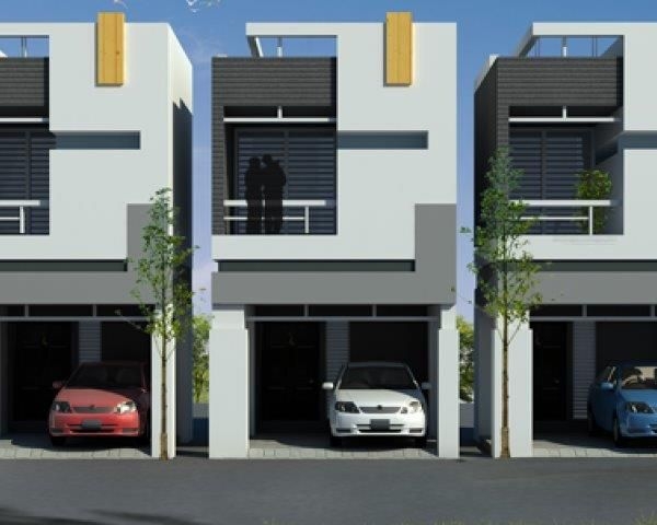 4 Bedroom Duplex House Plans Casas Geminadas Condominio Pequeno Plantas De Casas