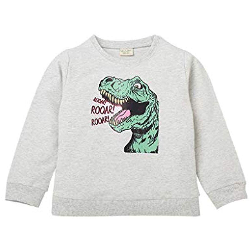 SUNFANY Jungen Langarm Tee Dinosaurier Gedruckt Rundhalsausschnitt Sweatshirt Kinder Pullover #Bekle...