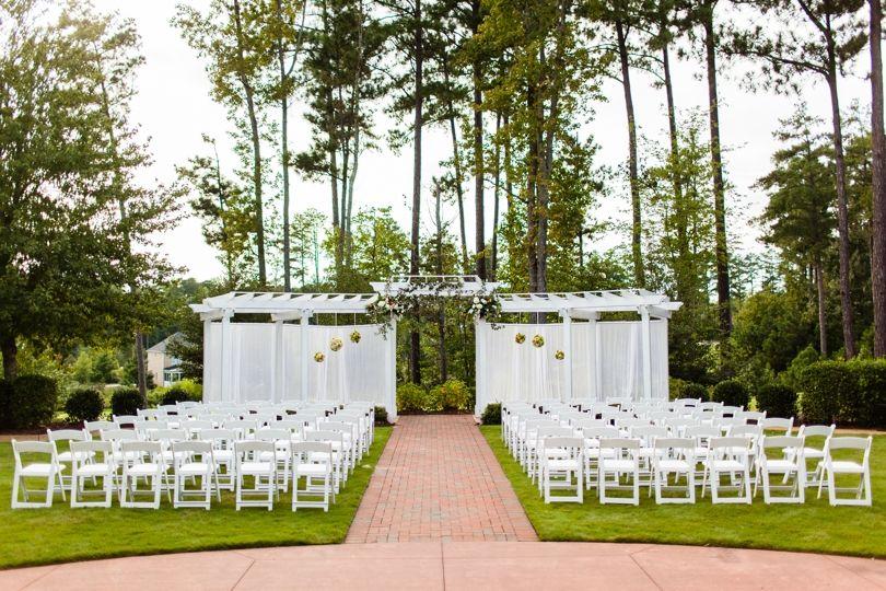 Beautiful Brier Creek Country Club Wedding In Raleigh NC