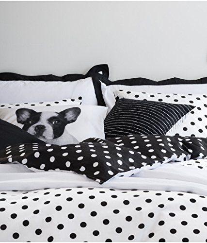 Black And White Polka Dot Duvet Quilt Cover 2pc Set Twin 100 Cotton Reversible Duvet Cover Set Http Www Amaz Duvet Covers Twin Polka Dot Duvet Quilted Duvet