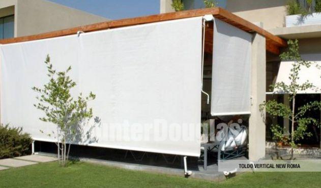 Los toldos son la opci n ideal para habilitar espacios for Cortinas para balcones exteriores