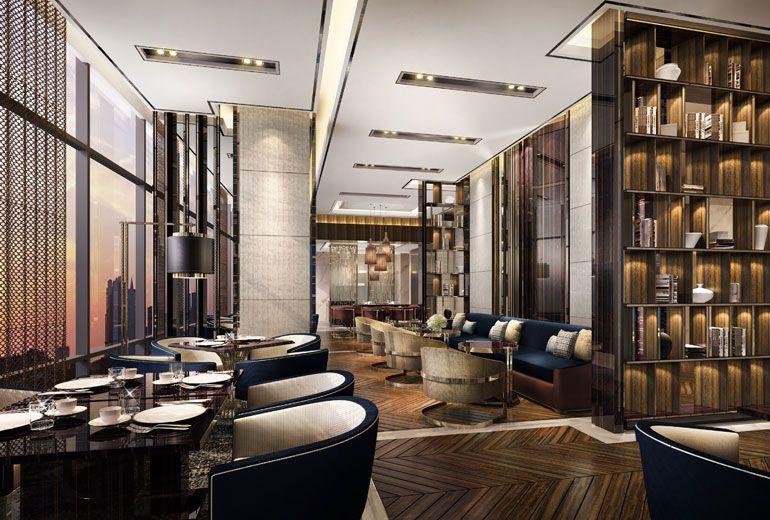 Sheraton jakarta gandaria city hotel club lounge for Design hotel jakarta