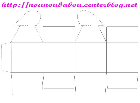 gabarit boite tuto pinterest. Black Bedroom Furniture Sets. Home Design Ideas