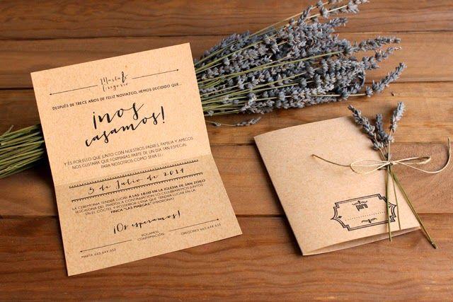 invitaciones de boda originales craft hermanas bolena shop Boda - invitaciones para boda originales