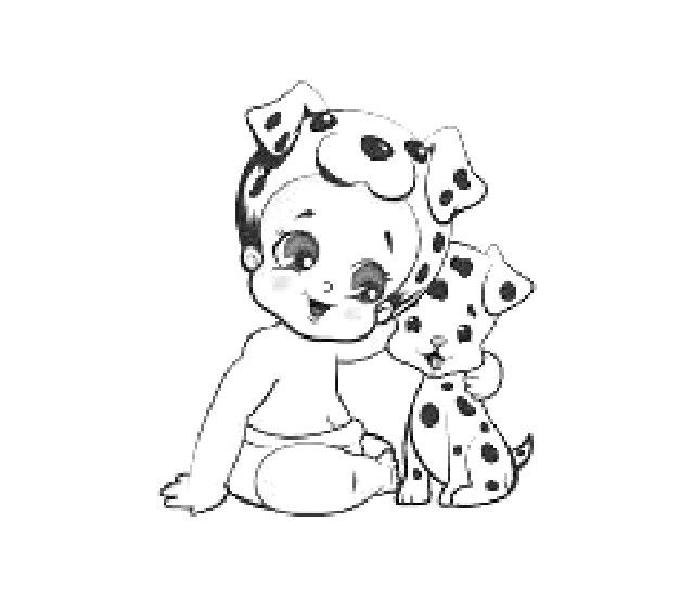 Twozie Coloring Page