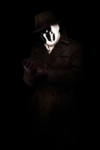 rorschach watchmen 2 - Android Wallpapers HD