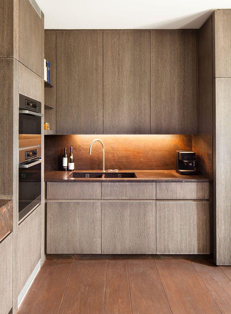 Obumex kitchens - Like copper backsplash, gray cabinets look like ...