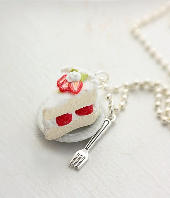 Hey, I found this really awesome Etsy listing at http://www.etsy.com/listing/154566544/strawberry-cream-cake-necklace-food