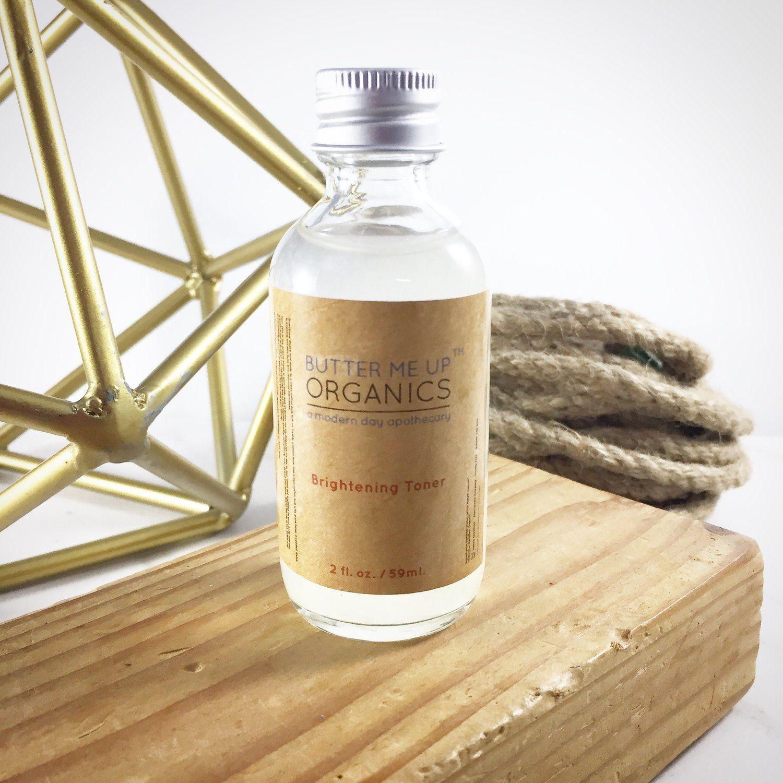 Organic Brightening Toner / Blemish Remover / Toner