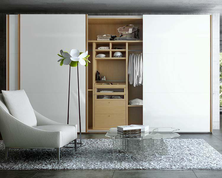 Armarios y closets de moda para el dormitorio el for Armarios roperos para habitaciones pequenas