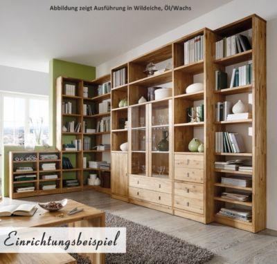 Bücherregal massiv geölt Jetzt bestellen unter    moebel - regale für wohnzimmer