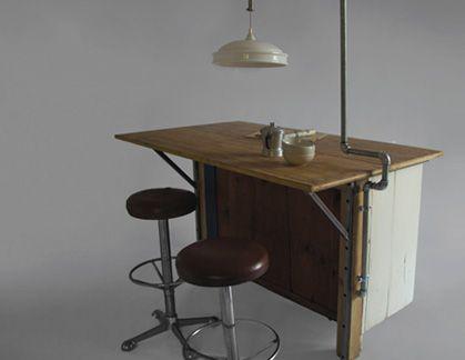 Another ingenius desk design by MANOTECA - Italian handmade pezzo