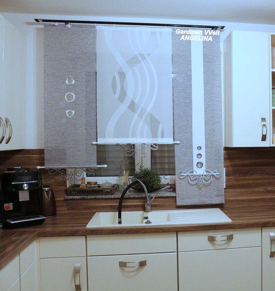 gardinen gardinen modern ein designerst ck von gardinenweltangelina bei dawanda vorh nge. Black Bedroom Furniture Sets. Home Design Ideas