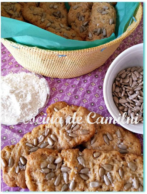 Pan de pipas Thermomix | Galletas Saladas, colines, Crackers ...