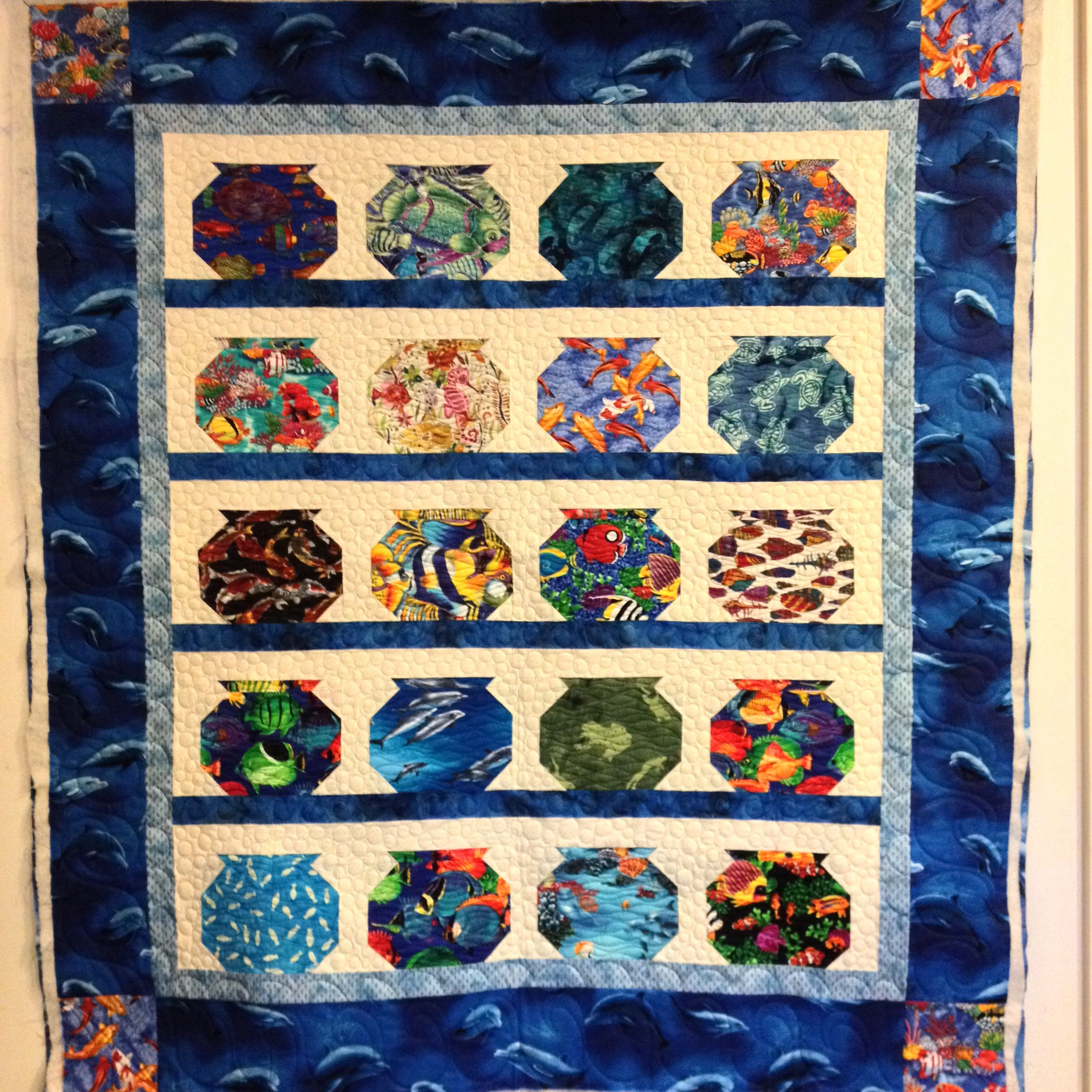 Fishbowl Quilt By Quilted Connection