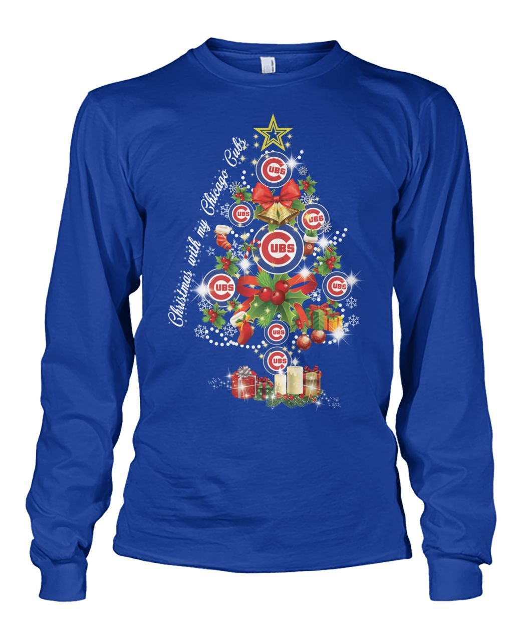 0197a65f Major Chicago Cubs Christmas Tree | Cubs | Chicago cubs, Cubs ...