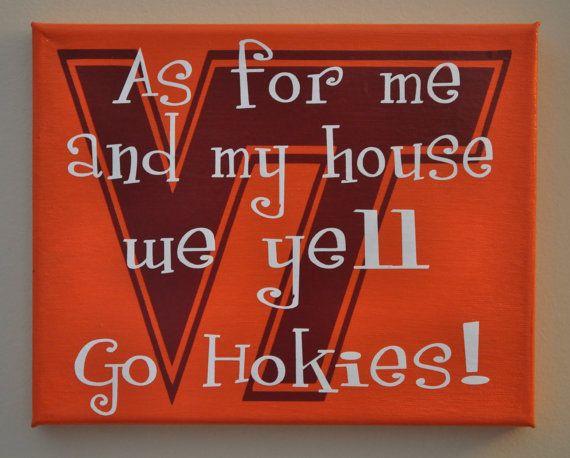 Umm...I need this. Go Hokies!