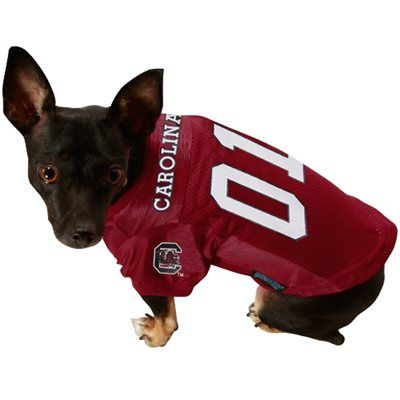 online retailer ed554 80e9d South Carolina Gamecocks Pet Jersey | gift ideas | Redskins ...