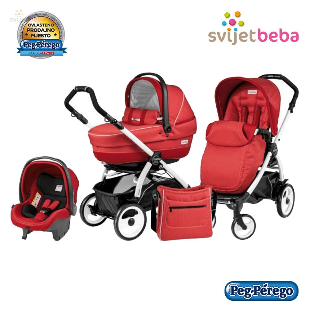 Peg Perego Book Plus 51 S Pop Up Dječja Kolica 3u1 Book Plus 51 Svijet Beba Peg
