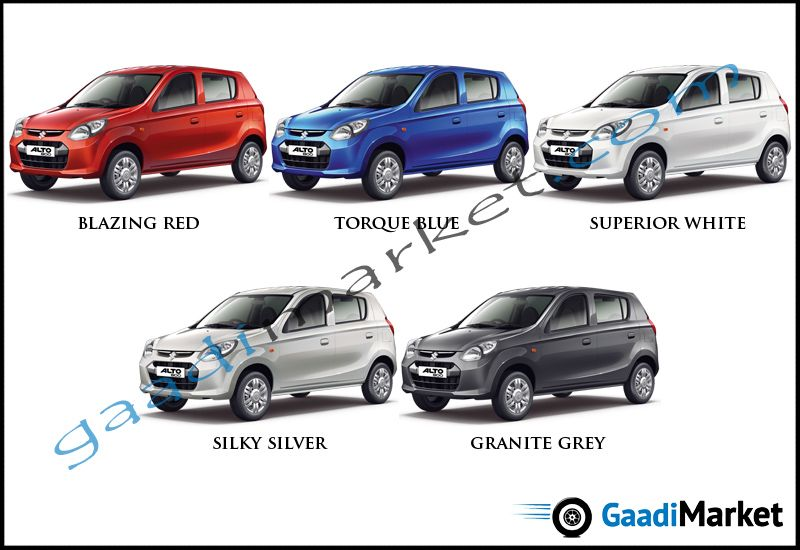 Alto 800 Colours | MARUTI COLOUR OPTIONS | Car ins, Cars, Color