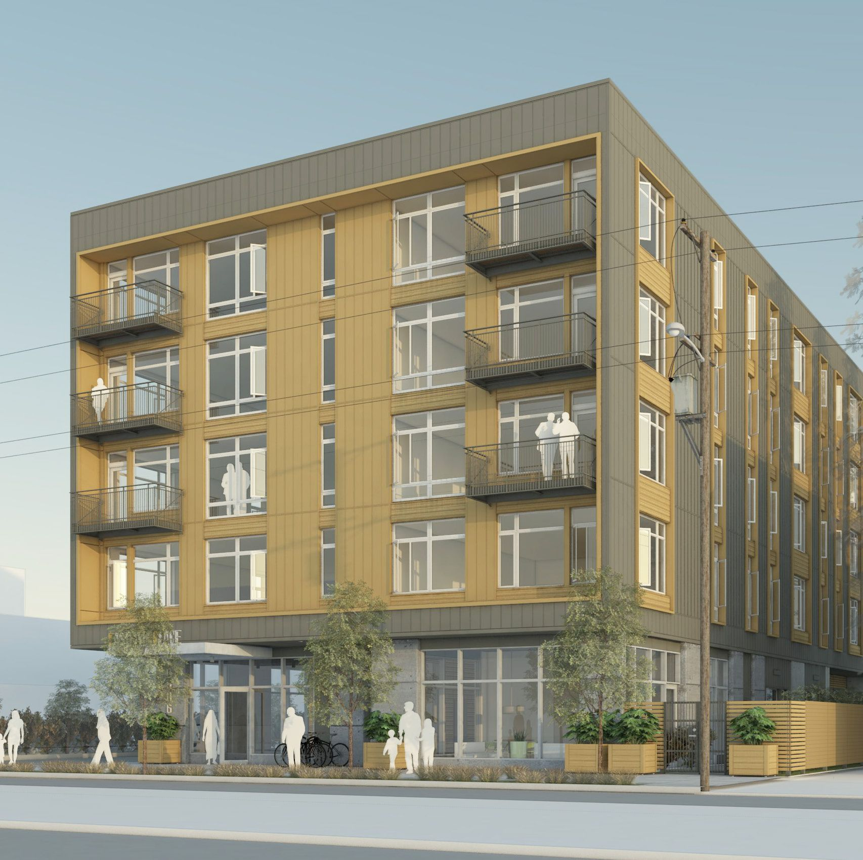 Apartments In Atlanta Ga Under 1200: 10506 E Burnside, Ankrom Moisan Architects, Portland, OR