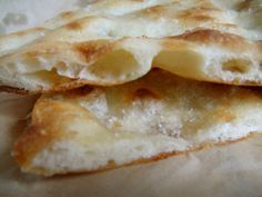 Pizza bianca: Roma docet
