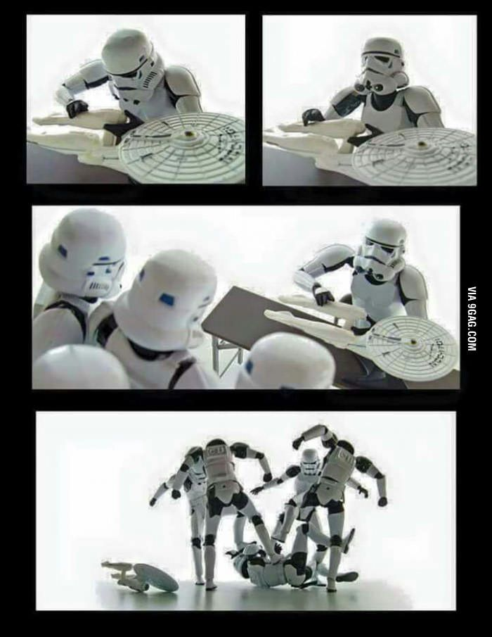 Star Wars Vs Star Trek Star Wars Pictures Star Wars Art Funny Star Wars Memes