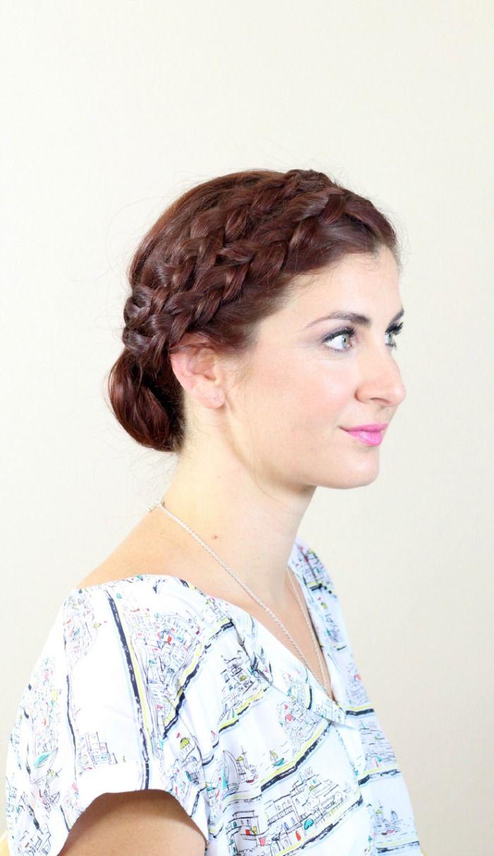 Double dutch braided updo formal hair pinterest double dutch