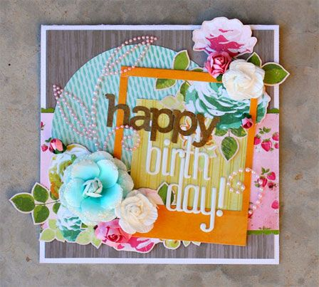 Happy Birthday Card Posters for my wall Pinterest – Scrapbook Birthday Cards