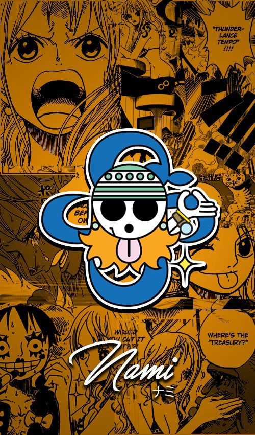 One Piece Wallpapers Mobile : New World , Nami by Fadil089665 on DeviantArt