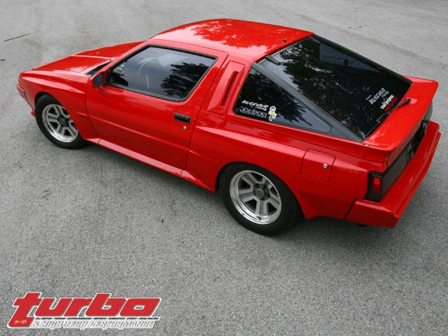 1987 Dodge Conquest Tsi Loved This Car Mine Was Silver Dream