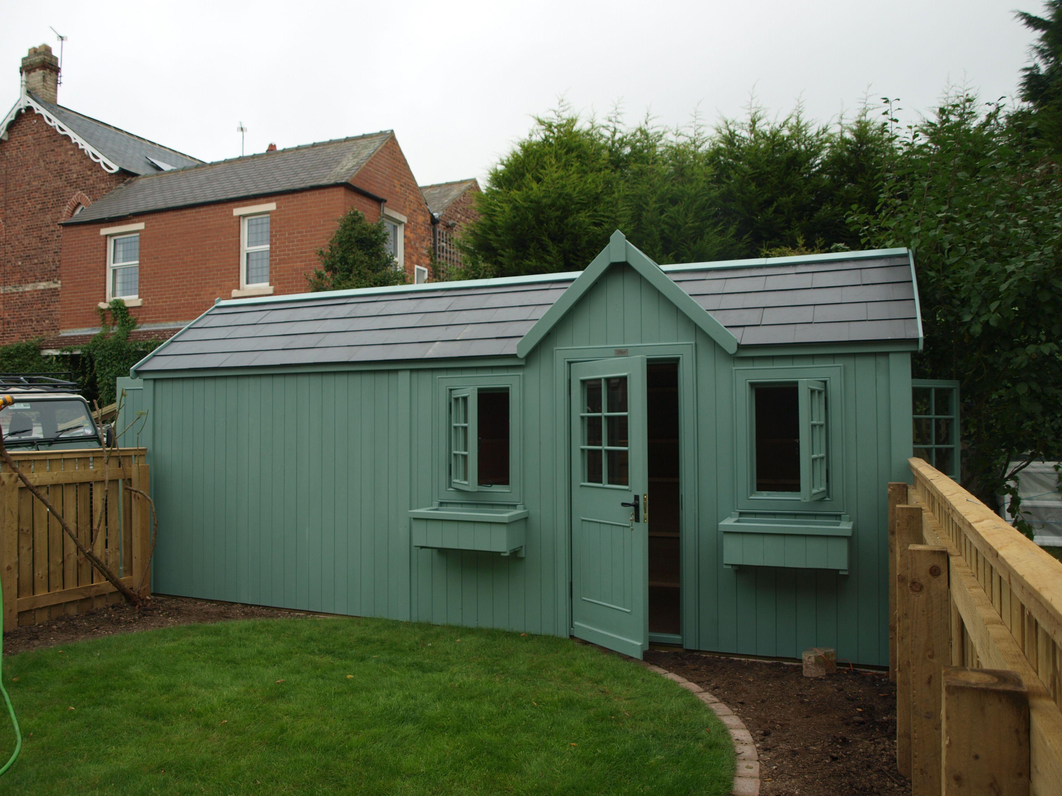 half shed, half summer house! | She SHEDS... | Pinterest | Bespoke ...