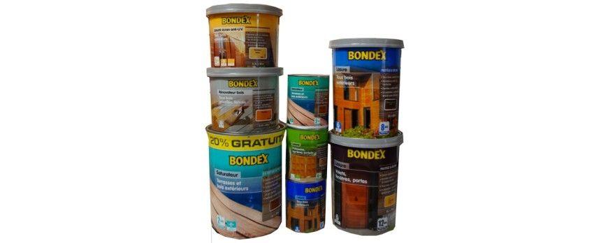 Arrivage Huile BONDEX, Saturateur Bondex, Lasures Bondex sur - peinture bois et fer