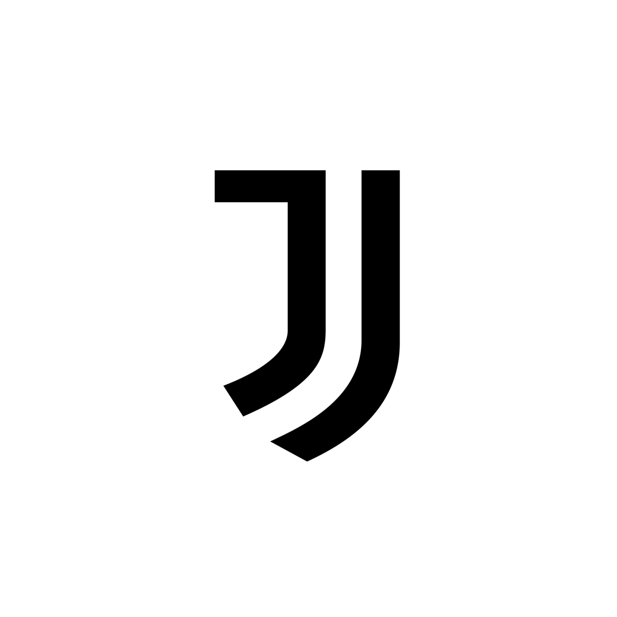 juventus svg logo letter logo single letter logo sports brand logos juventus svg logo letter logo single