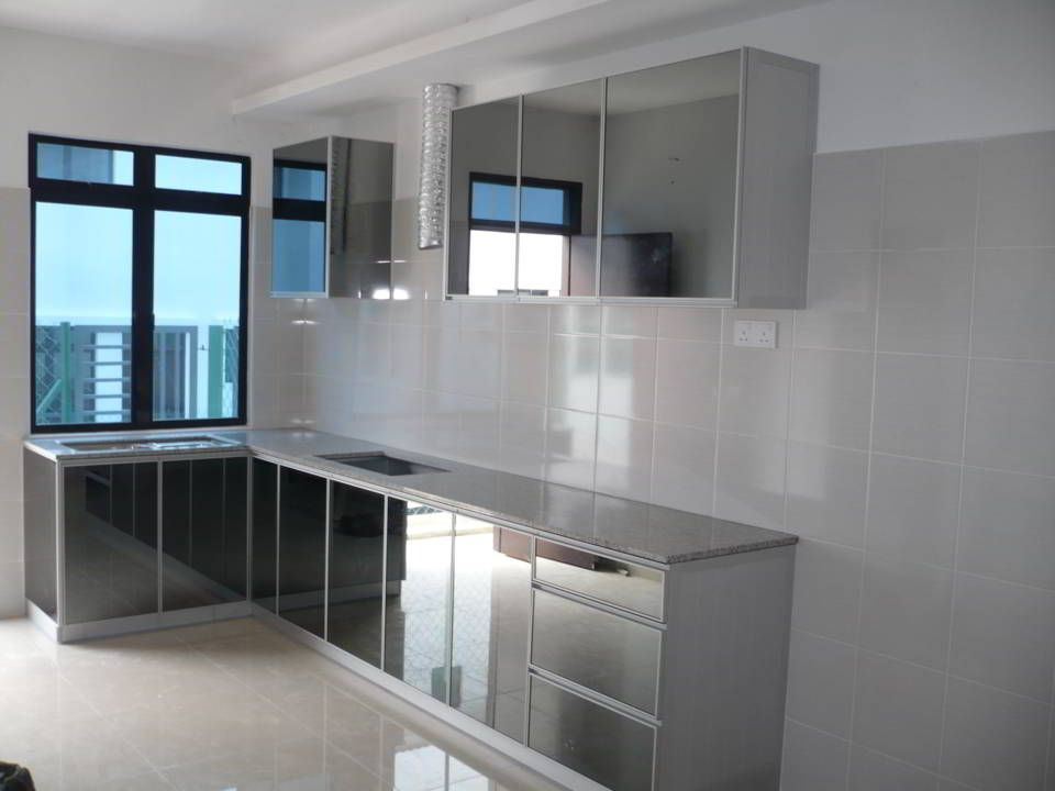 Aluminium Kitchen Cabinet What You Should Know How What Why In 2020 Kitchen Cabinet Design Aluminium Kitchen Kitchen Design Small
