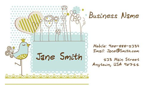 Pin By Tee Net On Lucu Free Business Card Templates Babysitting Custom Business Cards