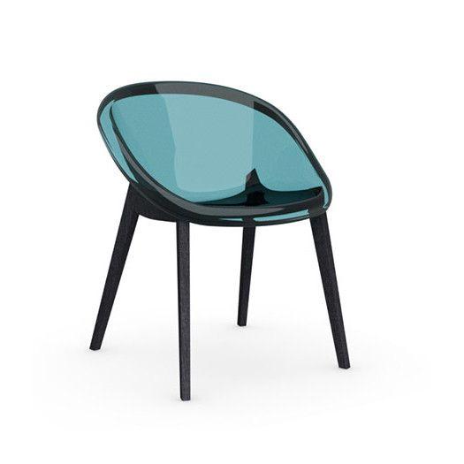 Calligaris Bloom Slant Leg Chair | AllModern