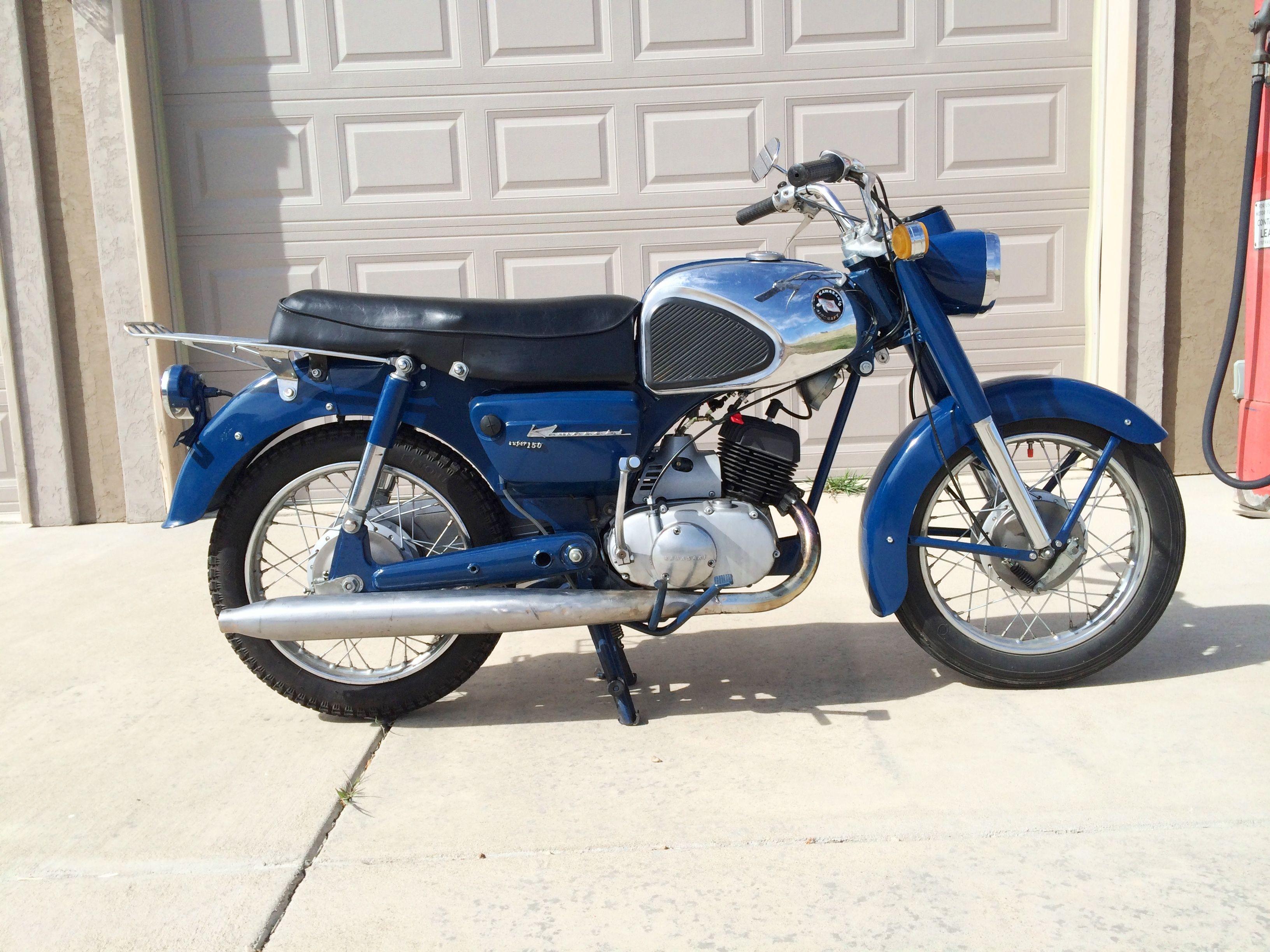 1965 Kawasaki B8S
