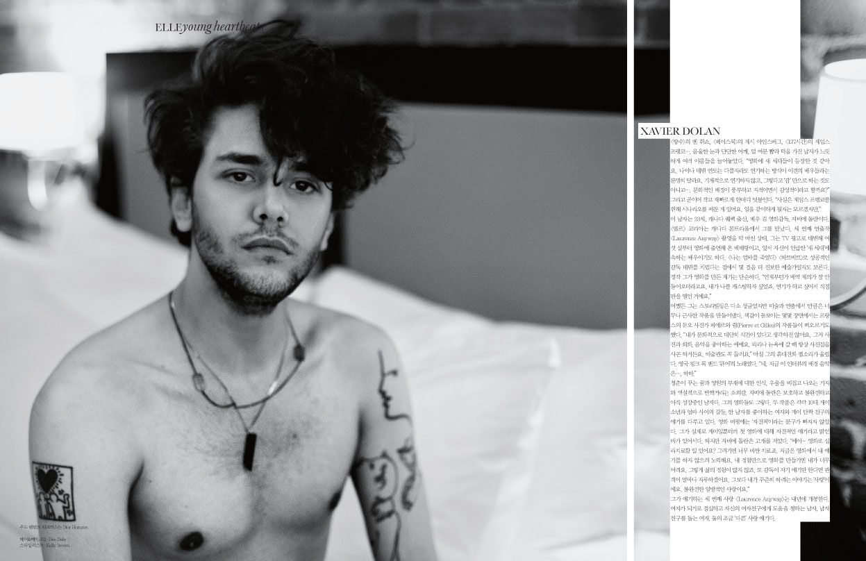 Xavier Dolan Harry Potter Tattoo