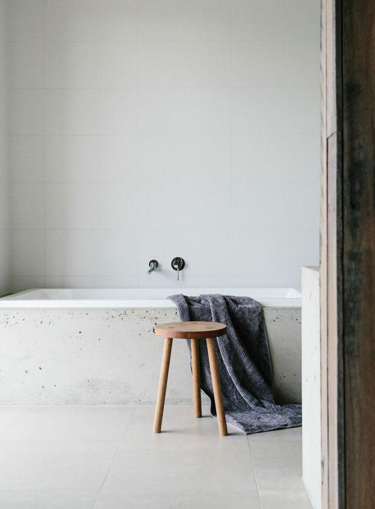 Beton luchtbellen Bad Pinterest Badezimmer und Bäder - bilder fürs badezimmer